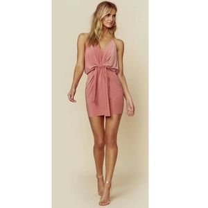 Misa Los Angeles Domino Dress in Pink.